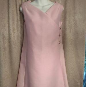 Vintage Jackie O style midi dress nwot
